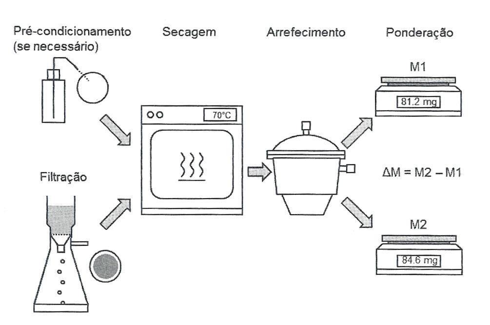 processo gravimetria