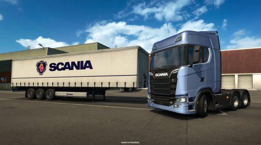 Homologação Scania